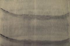 Estela arenosa. ,(encontrado en 1998) Tela de algodón, 140 x 250 cm