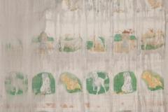 8. Estela del mejor amigo (encontrado 2005 nunca expuesta), Tela de algodón, 140 x 250 cm