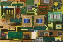 Circuital, Técnica mixta, 2010