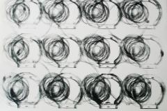 egistro grande 02  2017.  Impresión de placa industrial sobre papel Hahne      Müller 300 gr.  78 x 95 cm. Edición de 08