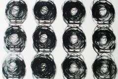 egistro grande 06  2017.  Impresión de placa industrial sobre papel Hahne      Müller 300 gr.  78 x 95 cm. Edición de 08