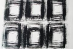 19. Registro grande 05  2017.  Impresión de placa industrial sobre papel Hahne      Müller 300 gr.  78 x 95 cm. Edición de 08